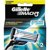 Картридж Gillette Mach3 2 шт