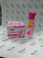 Крем для обличчя з шафраном і куркумою+рожева вода Dabur Gulabari Saffron&Turmeric Cold Cream
