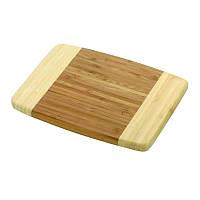 Доска деревянная бамбук. 25X20X1см 9191