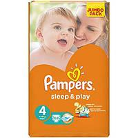 Подгузники Pampers Sleep & Play Maxi Jumbo 7-14 кг 68 шт