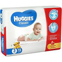 Подгузники Huggies Classic 3 4-9 кг 78 шт