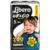 Подгузники Libero Up & Go 5 10-14 кг 48 шт