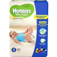 Подгузники Huggies Ultra Comfort 3 5-9 кг 80 шт
