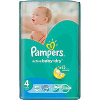 Подгузники Pampers Active Baby-Dry Maxi 7-14 кг 49 шт