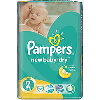 Подгузники Pampers New Baby-Dry Mini 3-6 кг 68 шт