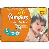 Подгузники Pampers Sleep & Play Junior 11-18 кг 42 шт