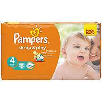 Подгузники Pampers Sleep & Play Maxi 7-14 кг 50 шт