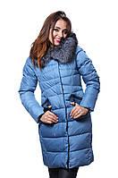 Куртка женская зимняя PEERCAT Р17-851 голубой