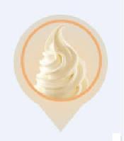 Сухая смесь для мороженого со вкусом Ванили 2 кг.