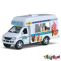 Машинка KinsFun Грузовик с мороженым 5253W