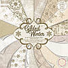 """Набор скрап бумаги """"Gilded Winter"""" First Edition 16 шт. 20х20см"""