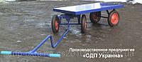 Ручная Большегрузная Платформа БТК-10 Большая  с металлическим настилом