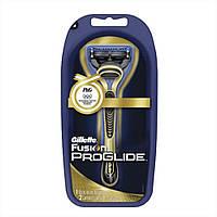 Бритвенный станок Gillette Fusion Proglide и 2 кассеты