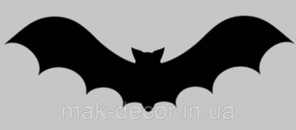 Вінілова інтер'єрна наклейка - Летюча миша (від 5х15 см)