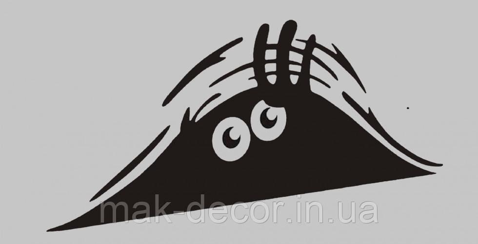 Виниловая интерьерная наклейка Выглядук  (от 6х15 см)