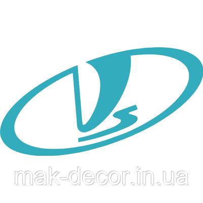 Вінілова наклейка - Lada (від 15х8 см)
