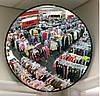 Сферические и купольные зеркала безопасности - тоже элемент защиты товара от краж.