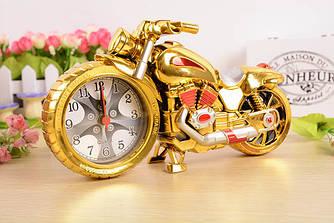 Годинник будильник Мотоцикл (подарунок для любителя мотоциклів)