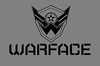 Виниловая наклейка WARFACE-Logo (от 20х20 см)