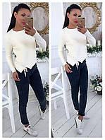 Женский стильный красивый свитер (расцветки), фото 1