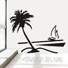 Вінілова наклейка - Літо (ціна за розмір 60х77 см)