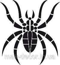 Вінілова наклейка на авто - павук 16