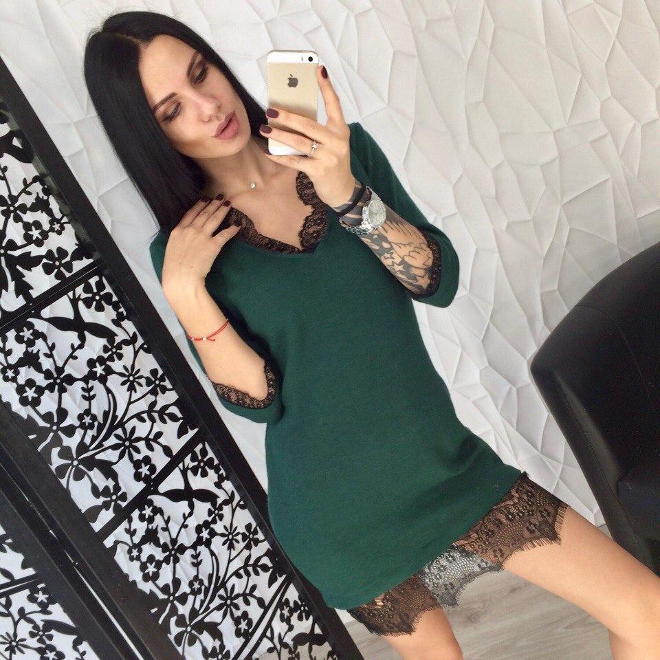 Платье трикотажное 1767-400