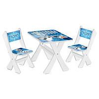 Детский столик и 2 стульчика М 2100-06 FROZEN