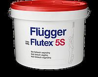 Акриловая, водоэмульсионная краска для стен и потолков Flugger Flutex 5S, 10 л