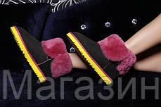 Зимние женские сапоги UGG Australia Bailey Button короткие угги австралия с пуговицей оригинал черные, фото 3