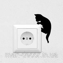 Вінілова інтер'єрна наклейка -Кошеня 8