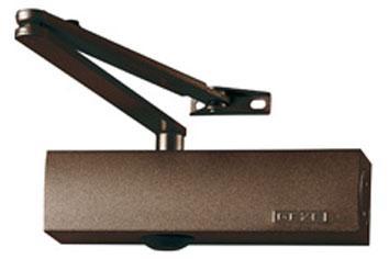 GEZE доводчик TS 2000 V BC тяга рычажная коричневый
