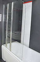 Душевая шторка на ванну Vilarte SC-100 140x100 Польша