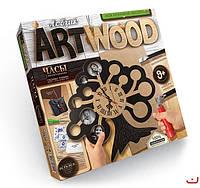 Набор для творчества ARTWOOD Фоторамка-настенные часы выпилинные лобзиком, Danko Toys, LBZ-01-04