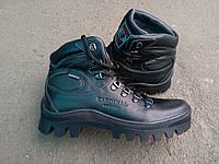 Мужские зимние ботинки Kardinal из натуральной кожи и меха