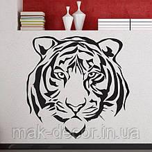 Вінілова наклейка - Тигр 90 (ціна за розмір 60х60 см)