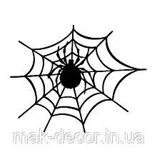 Вінілова наклейка на авто - павук 8 18х20 см
