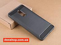 Оригинальный чехол бампер iPaky TPU Carbon Fiber для Xiaomi Redmi Note 4/4X - (Grey)