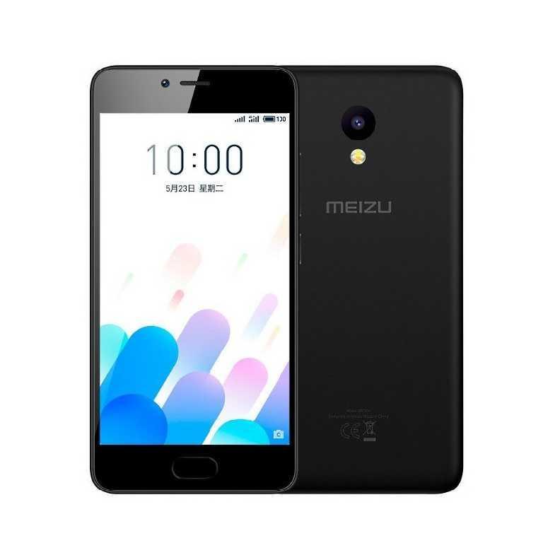 "Смартфон Meizu m5C EU 5"" 2/16Gb 4 ядра чёрный"