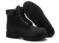 Ботинки Timberland 6inch чёрные