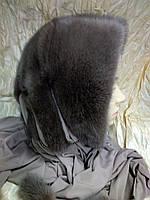 Меховая косынка из норки цвет топаз