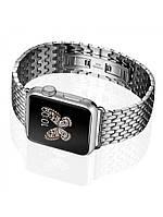 Браслет Icarer для Apple Watch 42 и 38mm Armor Stainless Watchband, нержавейка