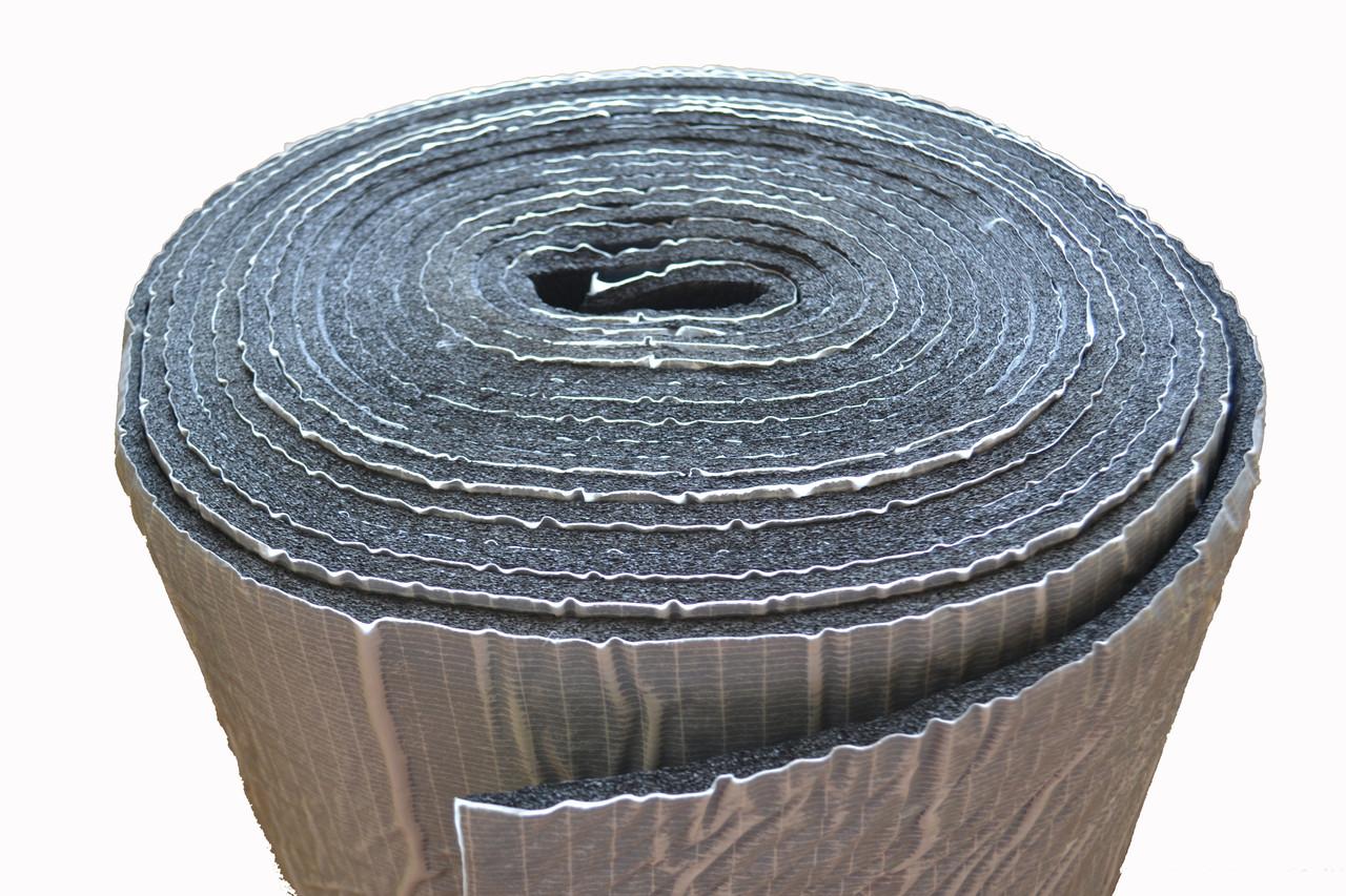 Теплоизоляция, шумоизоляция K-Flex St Duct. Вспененный каучук самоклеющийся 8мм.