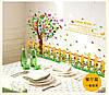 Интерьерная наклейка на стену  Декоративное дерево (SK9024)