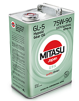 Масло Mitasu Gear Oil GL-5 75W-90, 4л