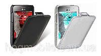 Чехол для LG Optimus L3 2 E430, E435 - Melkco Jacka, кожаный, разные цвета