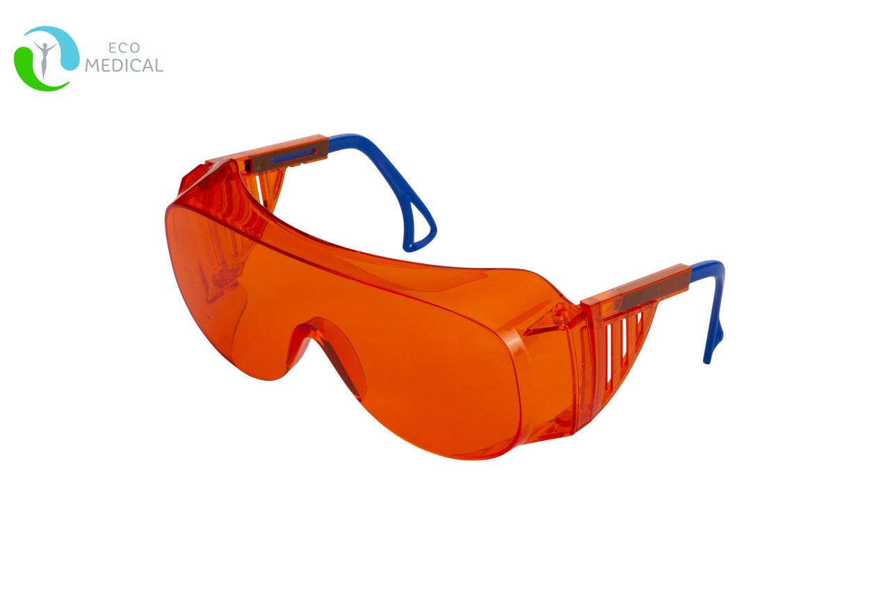 Очки защитные открытые от УФ-С излучения с регулируемой оправой