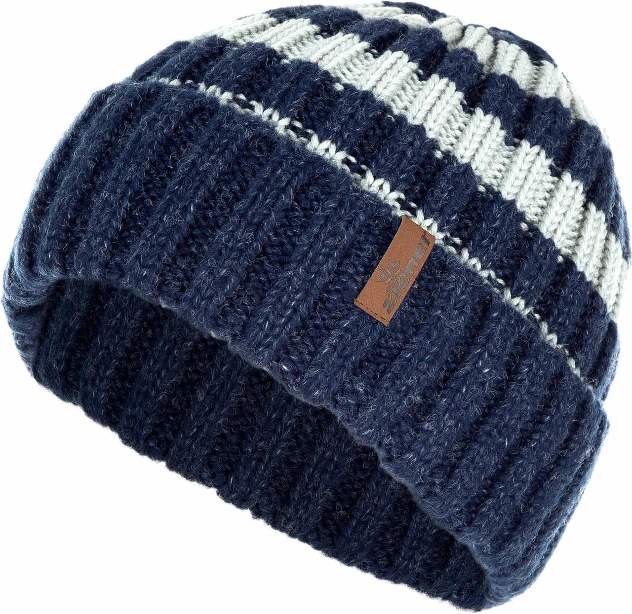 ШАПКА МУЖСКАЯ ZIENER  SM 17-acc 485 hat (170075-47)