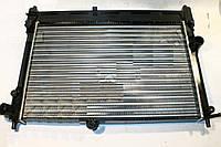 Радиатор водяного охлаждения Daewoo Lanos без кондиционера новый образец (производство DW)