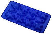 Силиконовая форма под шоколад / лед ассорти 14 шт 20*12*2см EM7150 (Empire Эмпаир Емпаєр)